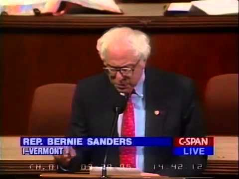 Bernie Sanders on Inequality, Campaign Finance Reform, and Term Limits (3/29/1995)