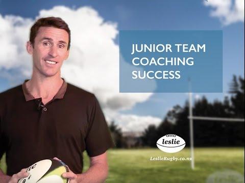Junior Rugby Team Coaching Success