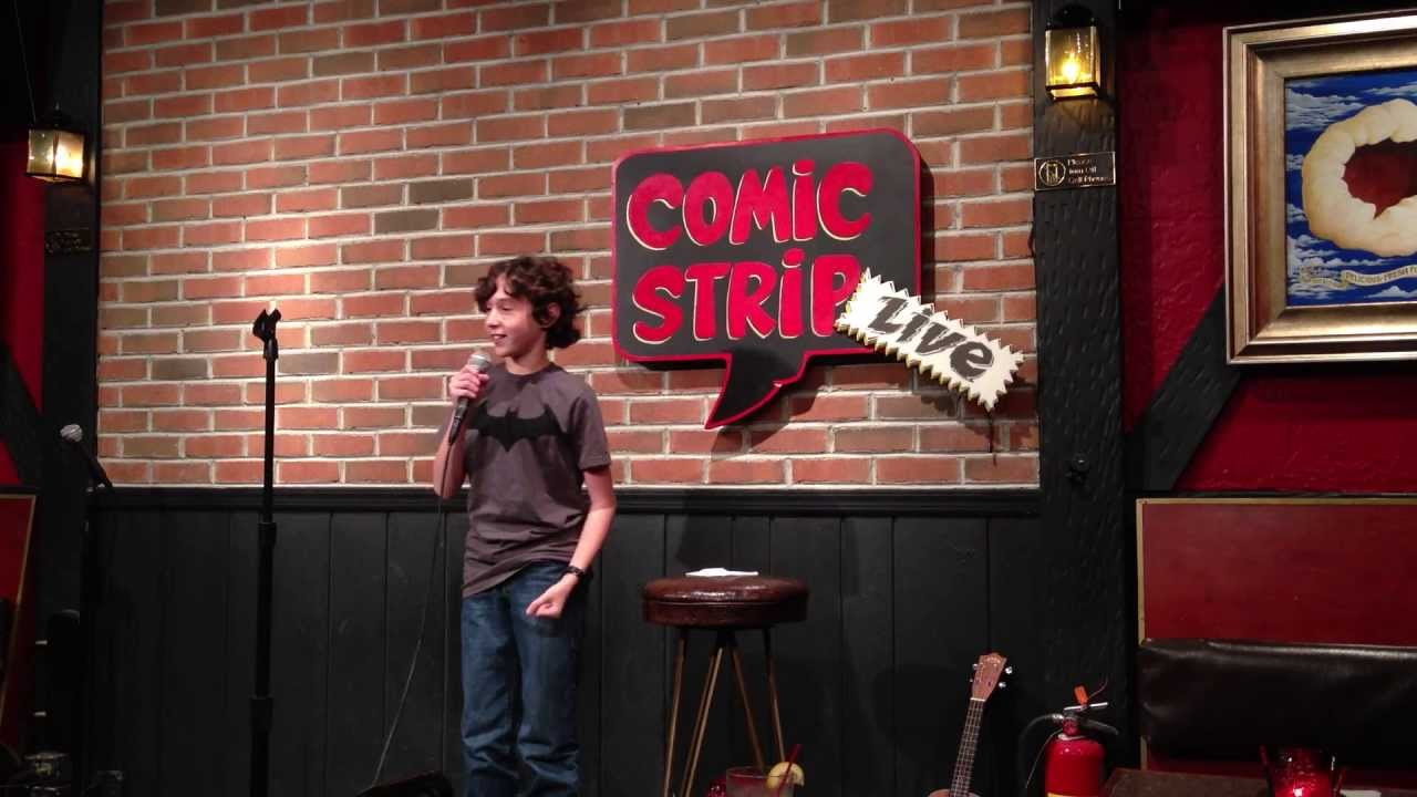 Comic strip live comedy club
