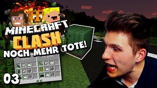 Minecraft CLASH #03 ✪ NOCH MEHR TOTE & GEFANGEN AM SPAWN!