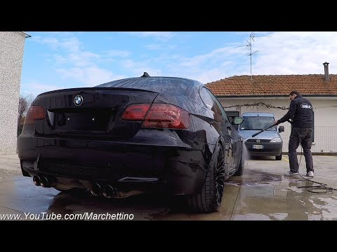 Car Detailing: I made my M3 look like NEW! [Sub ENG]