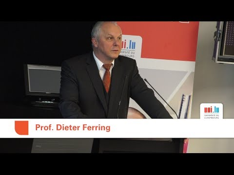 Dieter Ferring: Gudd al gin - Ageing well!