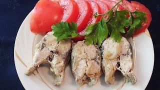 Рецепт Рыба в сметане Красноглазка