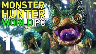 [1] Great Jagras and Pukei-Pukei Hunts!!! (Monster Hunter World PC Gameplay)