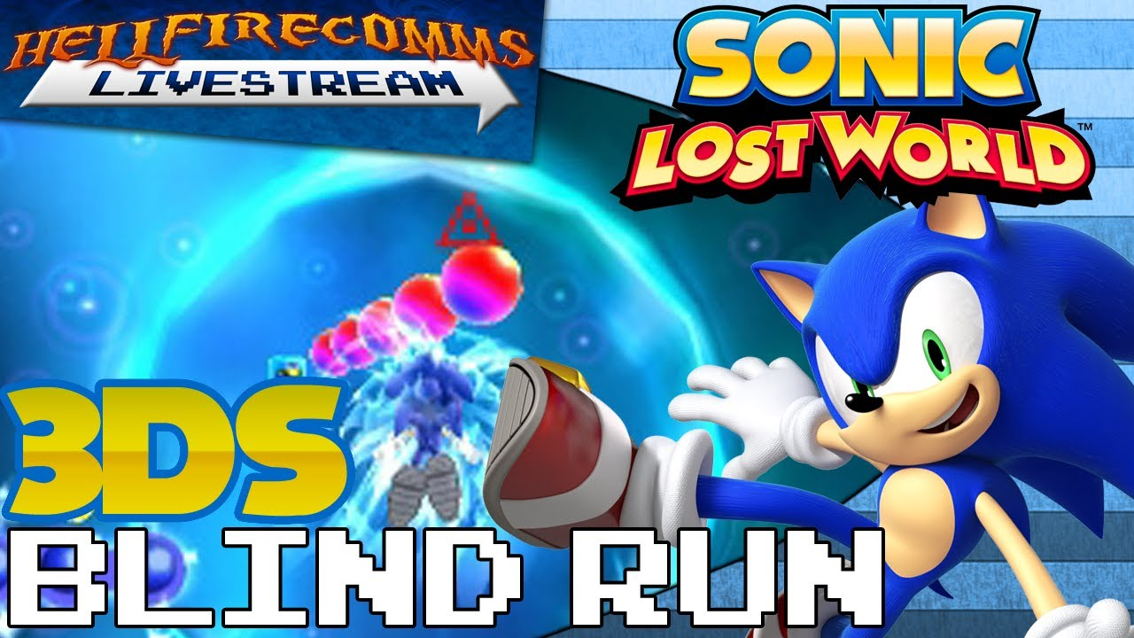 Sonic Lost World 3ds : Sonic lost world ds blind run complete youtube