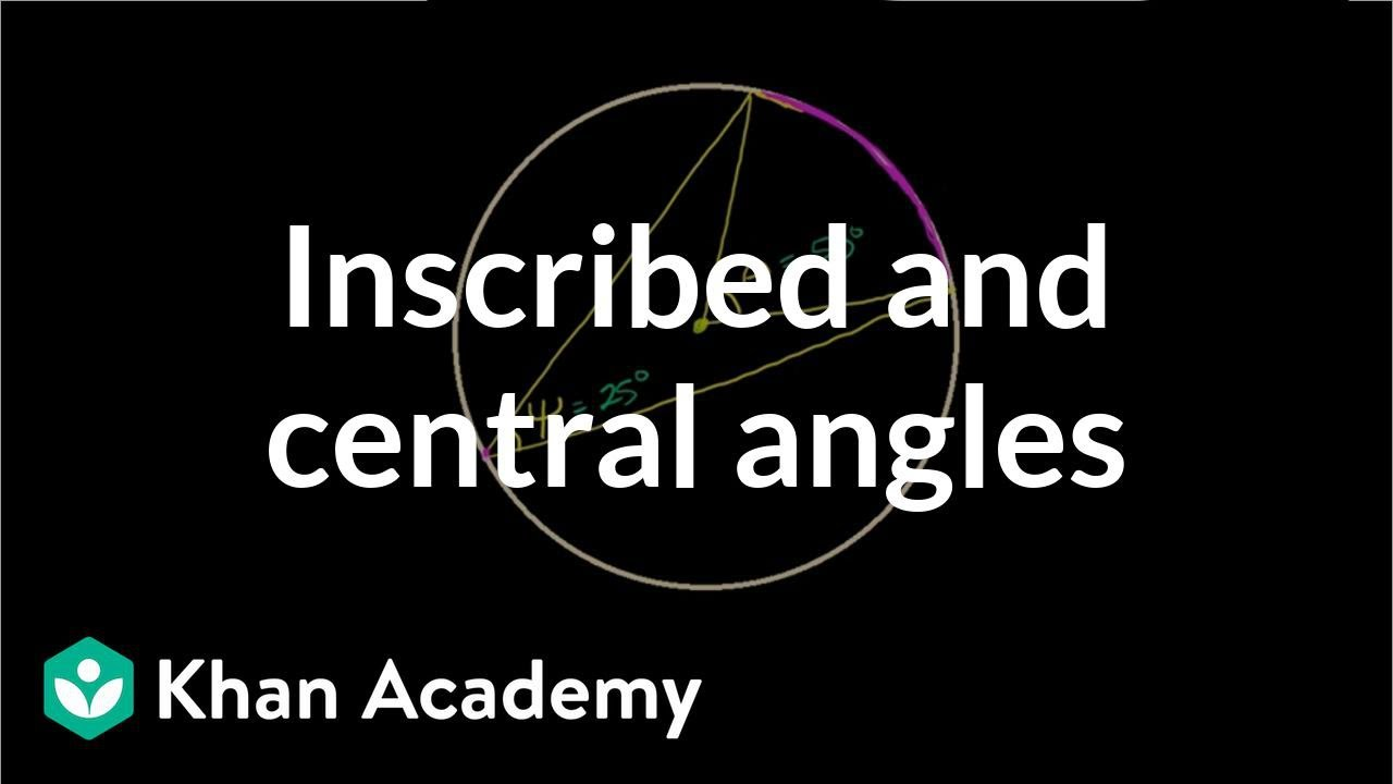 Inscribed angle theorem proof | High School Geometry | High School Math | Khan Academy