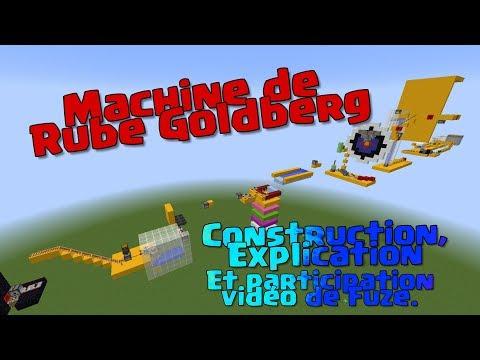 Machine de Rube Goldberg - Minecraft & participation pour la vidéo de Fuze