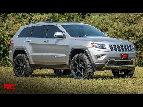 Jeep Grand Cherokee Lift Kit >> Jeep Grand Cherokee Wk2 2 5 Inch Suspension Lift Kit Youtube