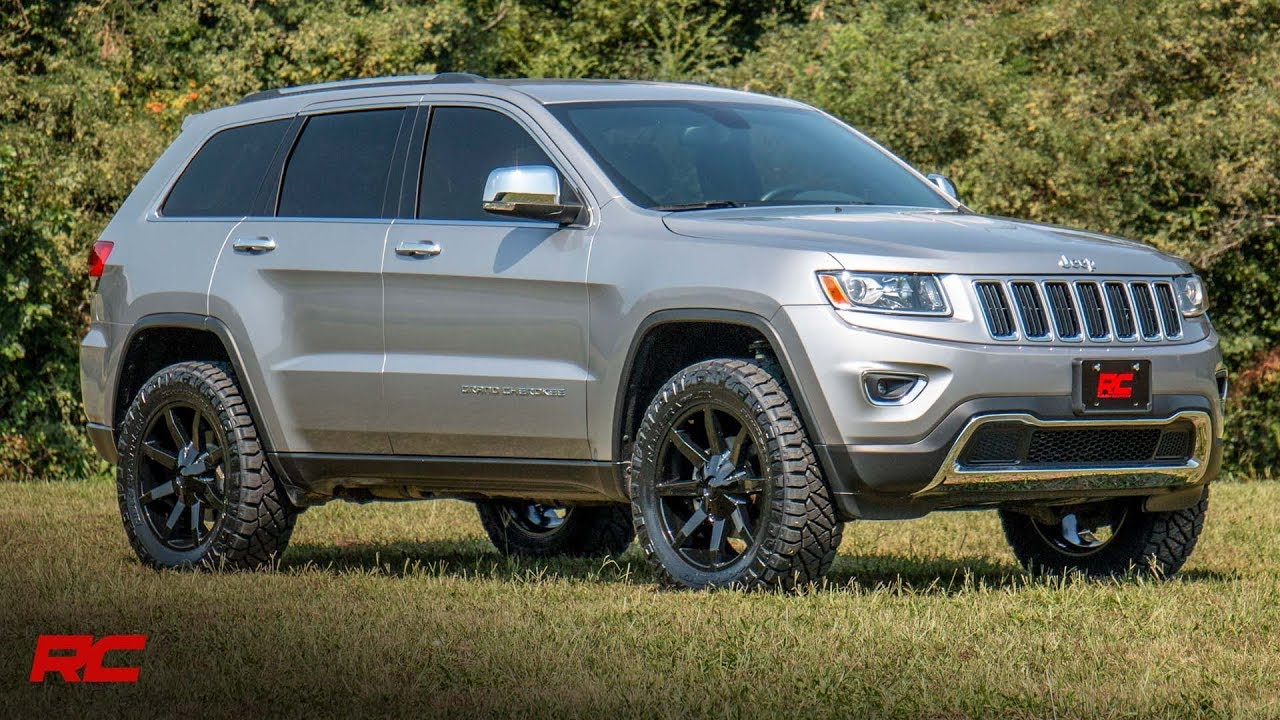 Jeep Grand Cherokee Lift Kit >> Jeep Grand Cherokee Wk2 2 5 Inch Suspension Lift Kit