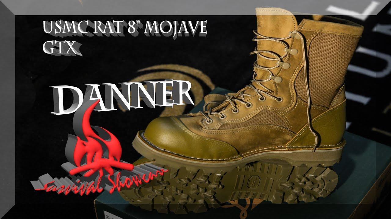 Danner RAT Boots USMC Mojave GTX - YouTube