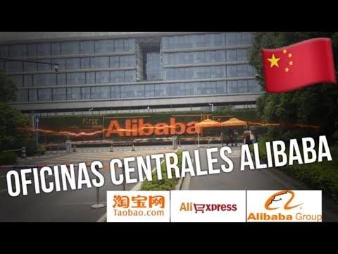 Entrando a las Oficinas de Alibaba en China? Hangzhou