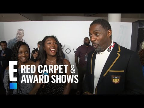 What Idris Elba's Daughter Really Thinks of His Clothing | E! Live from the Red Carpet