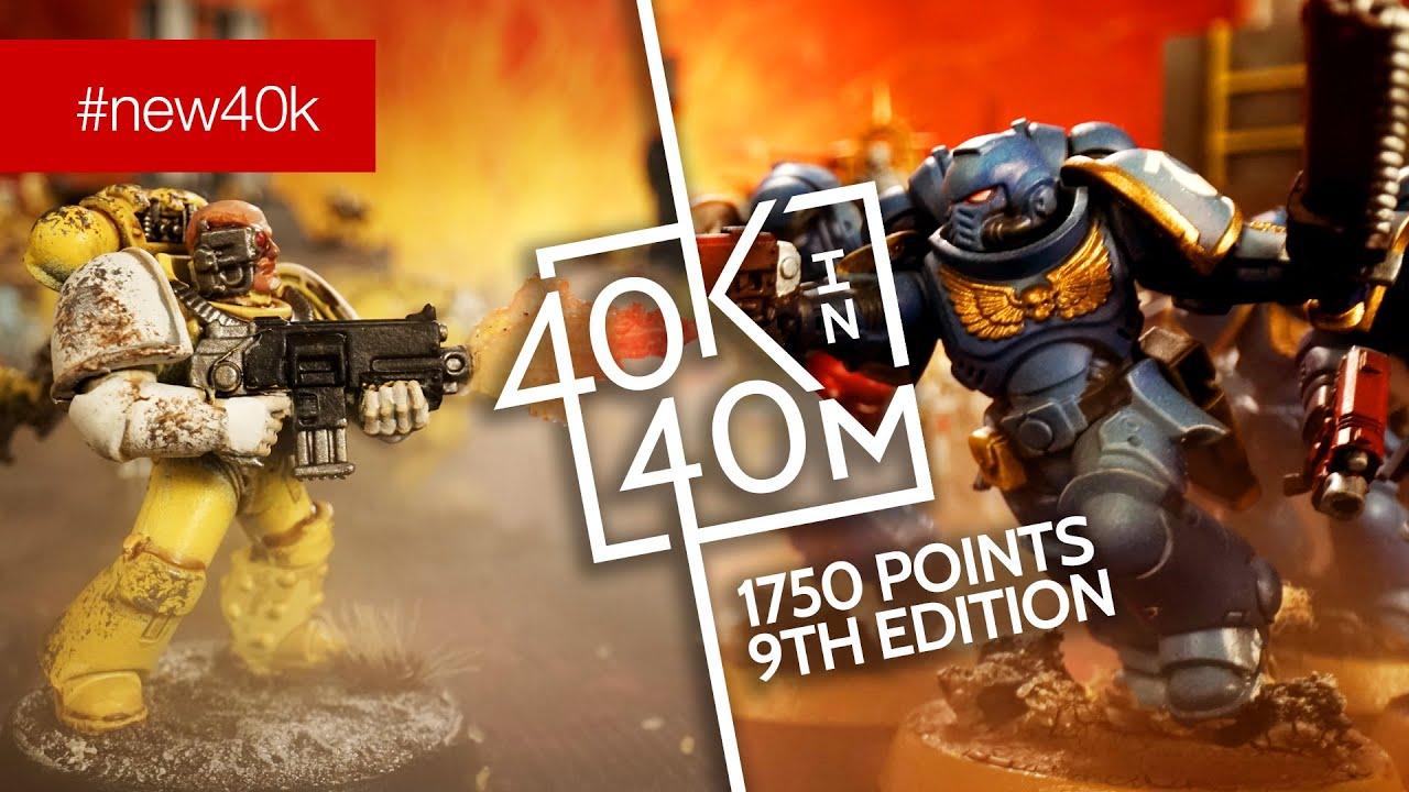 Warhammer #new40k Imperial Fist First Born versus Ultramarine Primaris 1750pts S02E05