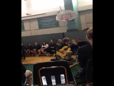 St Gabriel Catholic School Classical Guitar Performance