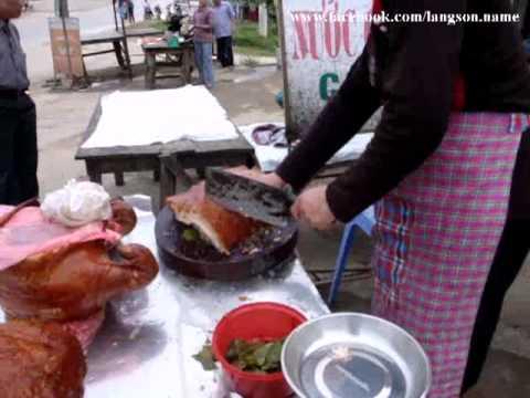 Lợn quay Lạng Sơn.