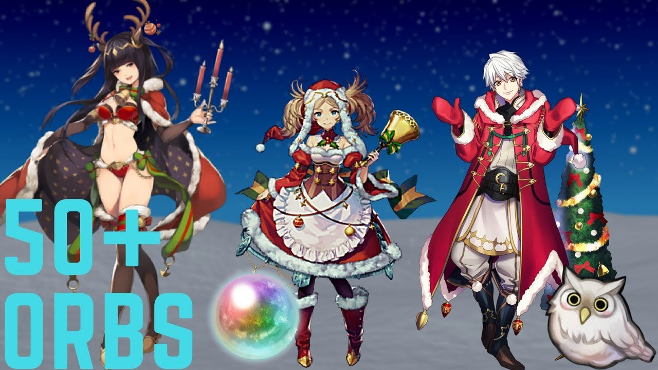 Feh Christmas Banner.Feh Christmas Banner Summoning Youtube