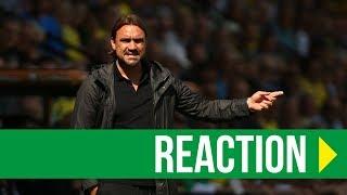 Norwich City 3-4 West Brom: Daniel Farke Reaction