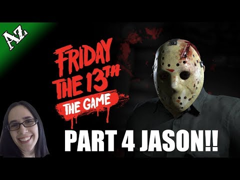 NEW UPDATE!! Part 4 Jason!! 🔪 Friday the 13th Gameplay 🔪 | Interactive Stream | 1080p @60fps