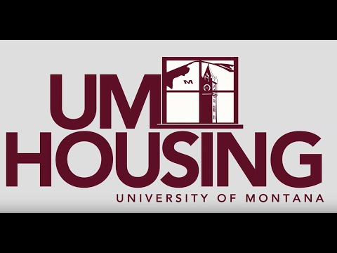 Housing at the University of Montana