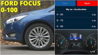 Ford Focus - Acceleration 0-100 km/h (Racelogic)