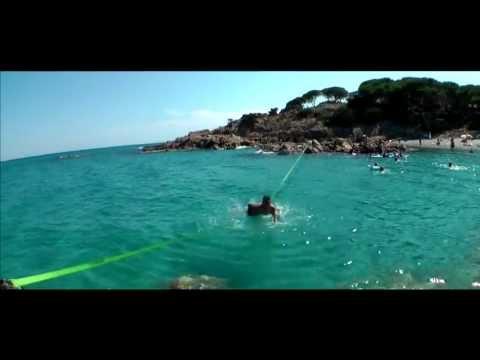 GAMBIT-Slacklines Sardegna - Trip Waterline