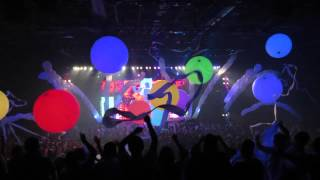 Cierre de Blue Man Group 2015