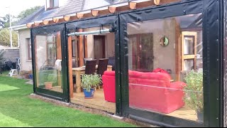Gambar cover 2015 Deck Build - with polycarbonate roof and PVC side covers