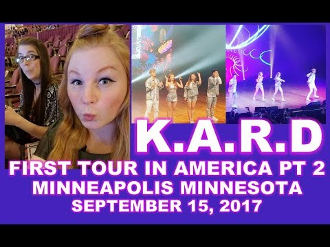 K.A.R.D IN MINNEAPOLIS, MN- MY FIRST KPOP EXPERIENCE