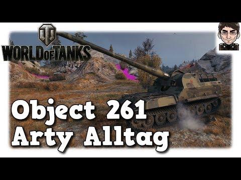 World of Tanks - Object 261, Arty Alltag auf Tier 10 [deutsch   gameplay] thumbnail