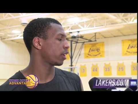 Jonathan Holmes Los Angeles Lakers Draft Workouts 2015 NBA Finals