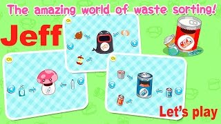 Learn to Recycle with Waste Sorting by BabyBus Kids Games -  Учитесь Утилизировать отходы