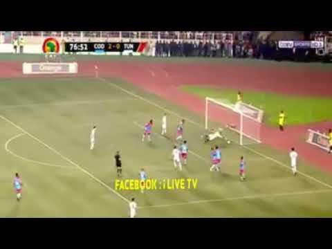 Tunisie vs RDC Congo 2-2 . Match inoubliable