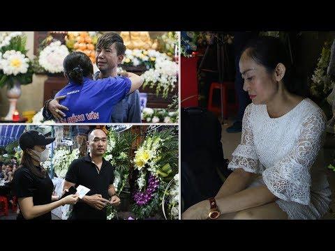 Dàn sao Việt lặng lẽ đến viếng Anh Vũ ngày 2..Long Nhật không kìm được mà òa khóc nức nở
