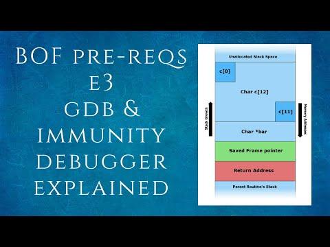 BOF-E3 Gdb & Immunity Debugger Intro   Gdb, Gdbtui, Gdb-peda   Tamil