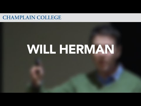 Will Herman: Speaking from Experience