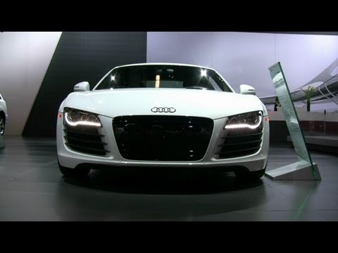 2012 Audi R8 Exterior and Interior at 2012 Montreal Auto Show