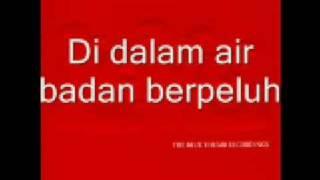 adibah nor tanpa vokal- ikan di laut asam di darat with lyrics