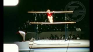 Tokyo 1964 [VERA CASLAVSKA] Uneven Bars GYMNASTICS Amateur Footage
