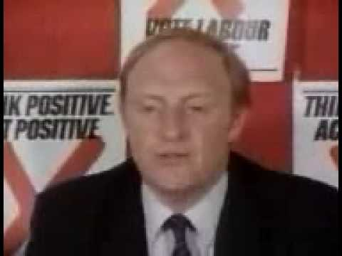 UK General Election 1983 - Kinnock on the Falklands Factor