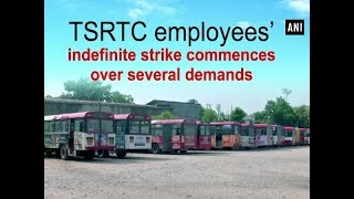 TSRTC employees' indefinite strike commences over several demands