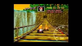 MK64 - World Record on D.K.'s Jungle  Parkway - 2'11