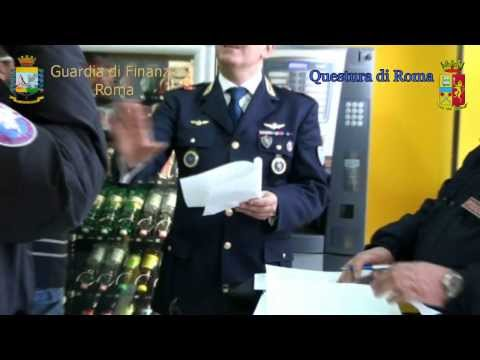 Scommesse Abusive - Operazione Final Bet Polizia e Finanza a Roma