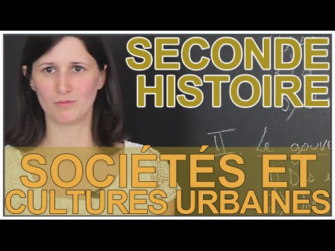 Sociétés et cultures urbaines - Histoire-Géographie - Seconde - Les Bons Profs