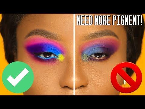 Make eyeshadows POP on ANY skintone   PhD in PIGMENT!
