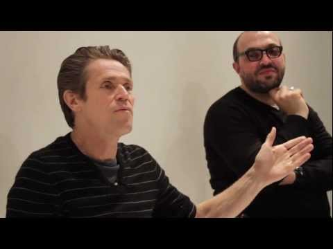 "The Modern School of Film with Willem Dafoe : ""I Like To Disappear"""