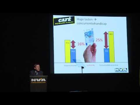 De concurrentiehandicap volgens N-VA-Kamerlid Siegfried Bracke (stand van het land - 8/12)