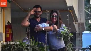 Saif And Kareena With Their New Born Taimur Make An Adorable Family