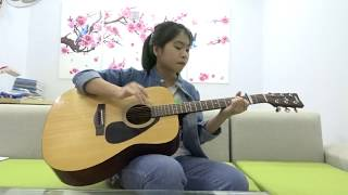 PSY - Gangnam Style - guitar Đoàn Mỹ Duyên