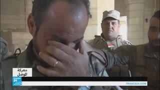 دموع وصلوات بعد استعادة بلدة الحمدانية المسيحية في العراق
