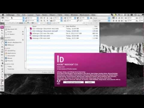 How to Down Save InDesign File